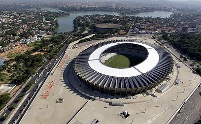 המינייראו. גם באולימפיאדה ב-2016 ייעשה באצטדיון שימוש (צילום: רויטרס) (צילום: רויטרס)