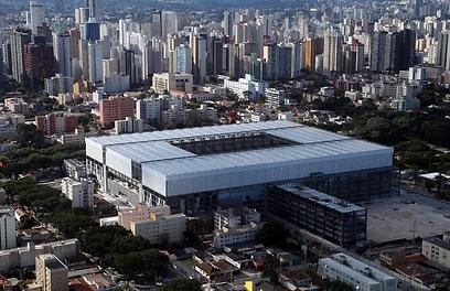 אצטדיון ארנה דה באיקסדה. אחד המתקנים המרשימים בברזיל (צילום: AFP) (צילום: AFP)