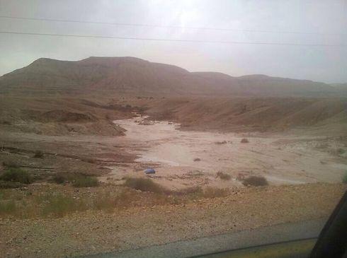 Floods in the Judean Desert (Photo: Boaz Zarfati) (Photo: Boaz Zarfati)