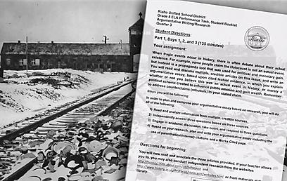 """""""האם השואה אכן התרחשה, או שמה מדובר במזימה פוליטית"""". העבודה (צילום: EPA) (צילום: EPA)"""