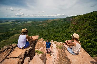 אזור קויאבה. בדיוק במרכז דרום אמריקה (צילום: גטי אימג'ס) (צילום: גטי אימג'ס)