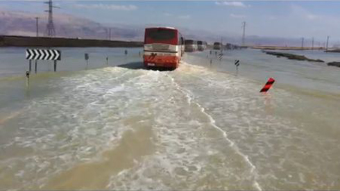 Parts of Highway 90 were still under water on Saturday. (Photo: Police Spokesperson's Unit) (Photo: Police Spokesperson's Unit)