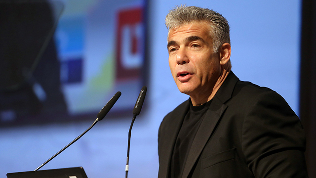 Finance Minister Yair Lapid (Photo: Nimrod Glickman)