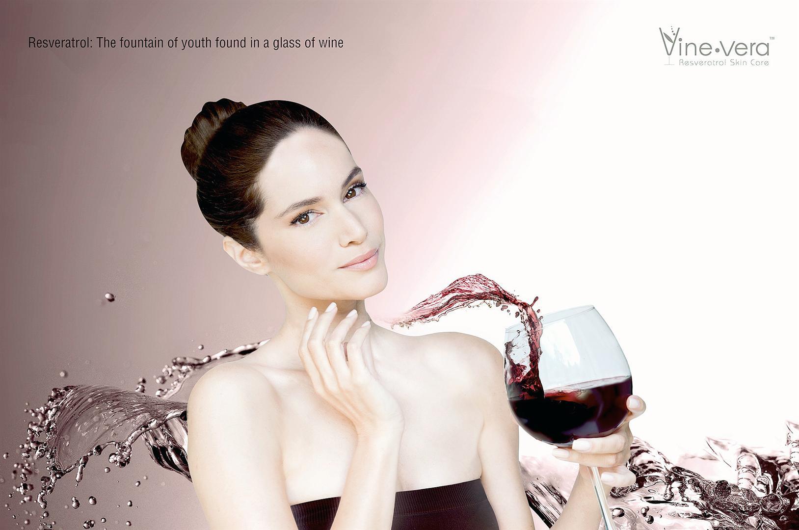 יין לעור הפנים (צילום : איאן פישר)