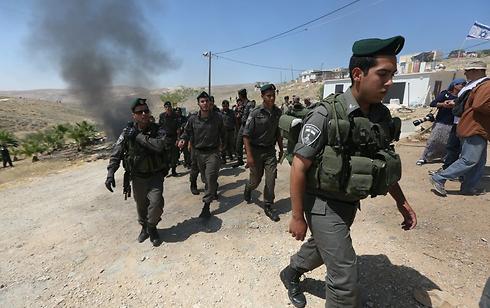 גורם עיקרי לחרם על ישראל - המדיניות בשטחים. פינוי ההתנחלות מעלה רחבעם (צילום: גיל יוחנן)