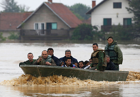 Floods in Serbia (Photo:Reuters)