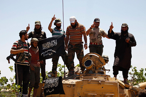 Jabhat al-Nusra activists in Idlib, Syria (Photo: Reuters)