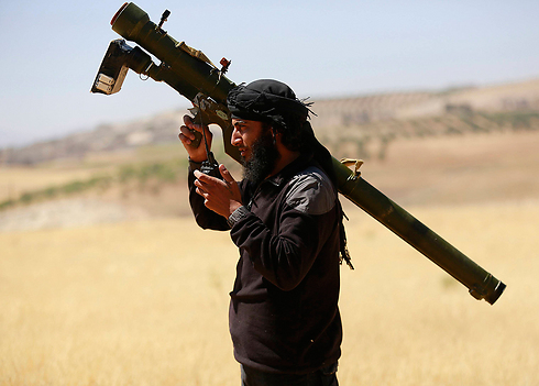 Jabhat al-Nusra (Photo: Reuters) (Photo: Reuters)