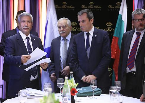 Bulgarian prime minister in Tel Aviv meeting. (Photo: Yaron Brener) (Photo: Yaron Brener)