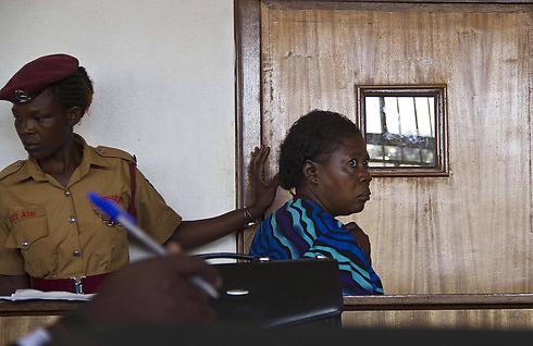 """""""הופלתה על ידי הרשויות"""". האחות נאמובירו (צילום: AFP) (צילום: AFP)"""