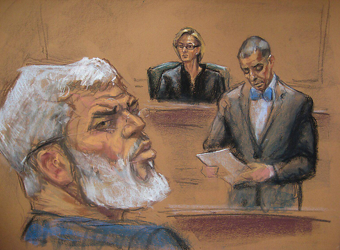 Mustafa Kamel Mustafa in court (Photo: EPA)