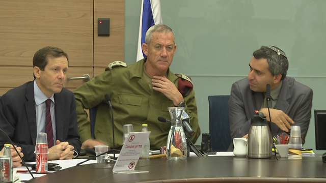 IDF Chief of Staff Lieut. Gen. Benny Gantz at Knesset's Defense Committee meeting (Photo: Eli Mandelbaum)