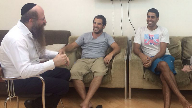 Israelis remain calm in Bankok's Chabad house.