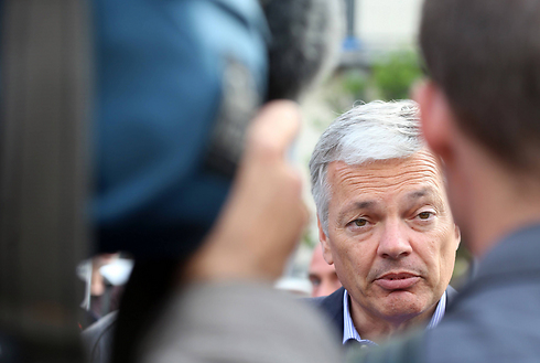 Belgian FM Reynders: Shocked by the killings at the Jewish Museum (Photo: AFP)