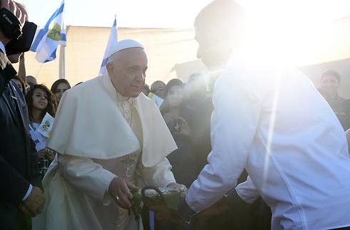 Pope in Jerusaelm (Photo: Kobi Gideon, GPO)