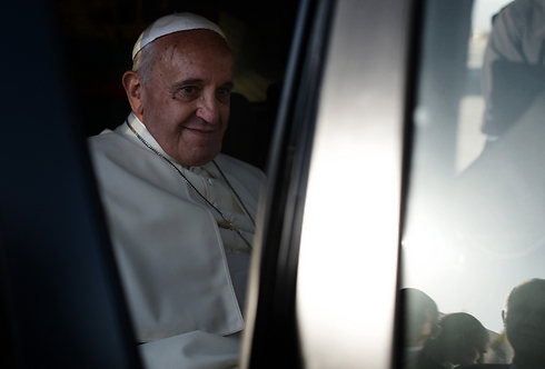 Pope Francis in Israel (Photo: Kobi Gideon, GPO)