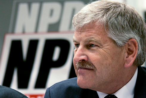 Germany's NPD leader Udo Voigt (Photo: Reuters) (Photo: Reuters)