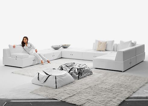 סלון לבן של אליתה ליוינג (צילום: אליתה ליוינג) (צילום: אליתה ליוינג)
