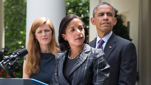 סוזן רייס (במרכז) (צילום: EPA) (צילום: EPA)