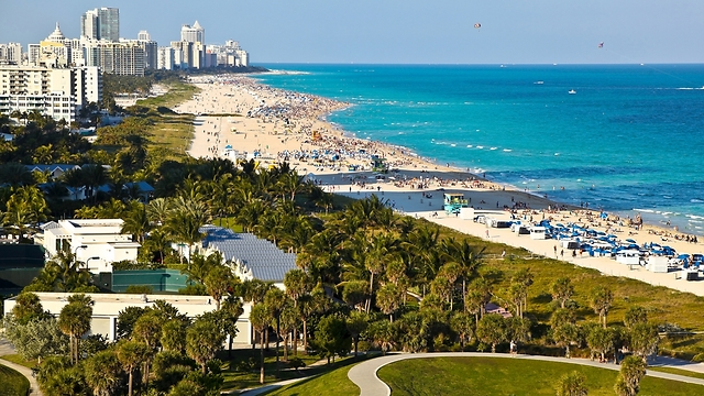 Miami. Israelis arrive first of all as tourists (Photo: Shutterstock)