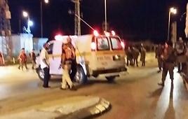 Attack at Tapuach Junction. (Photo: Shomron Regional Council Security, Aviel Mamliah) (Photo: Shomron Regional Council Security, Aviel Mamliah)