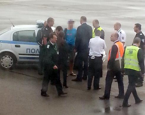 Emergency landing in Sofia.