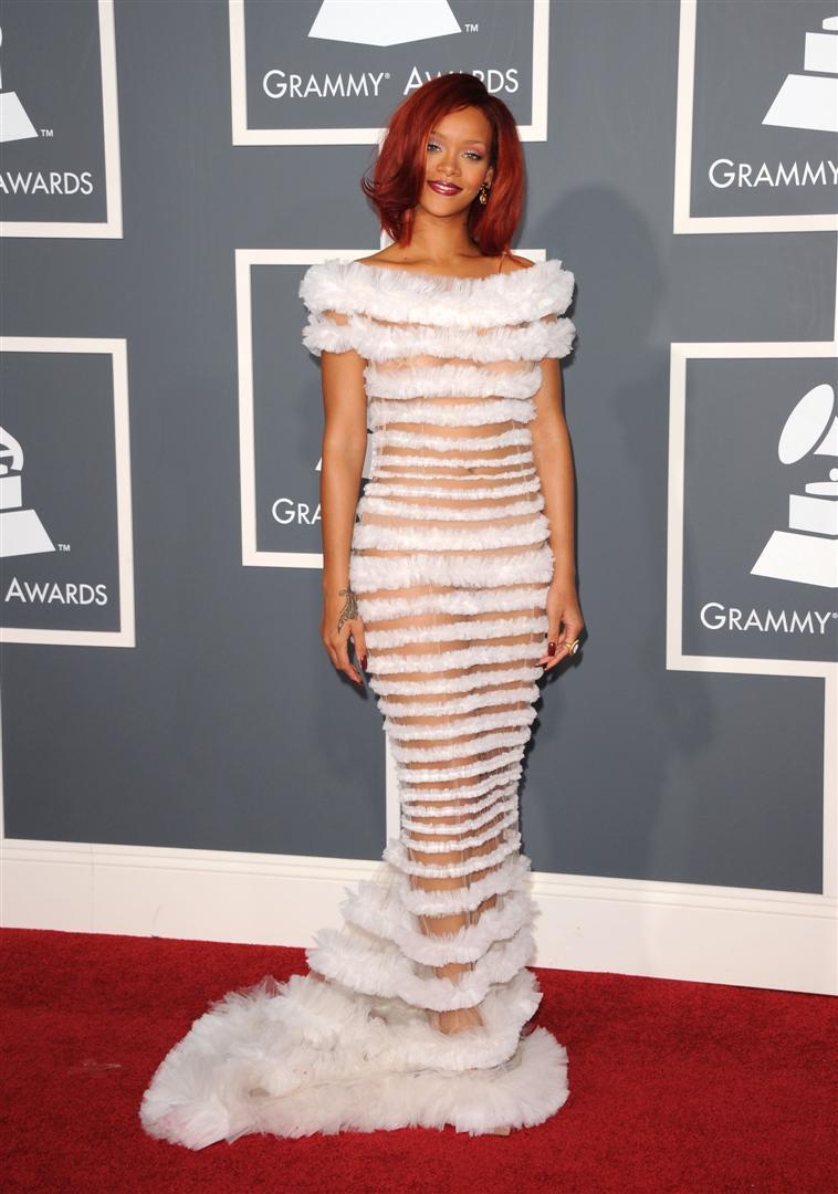 ריהאנה, עדיף שתמשיכי לשיר (gettyimages)