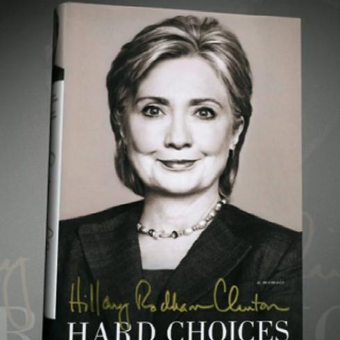 """Hillary Clinton's new memoir """"Hard Choices"""""""