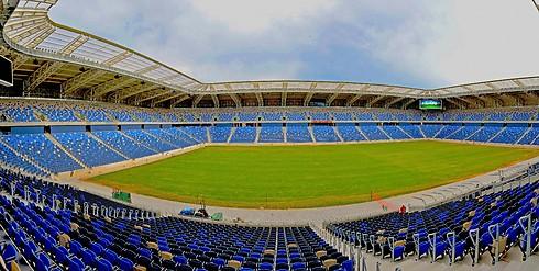 The Haifa International Stadium won't stand empty on Shabbat (Photo: Zvi Roger, Haifa Municipality)