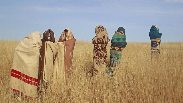 שדה בכפר קונו שבדרום אפריקה (צילום: AP) (צילום: AP)
