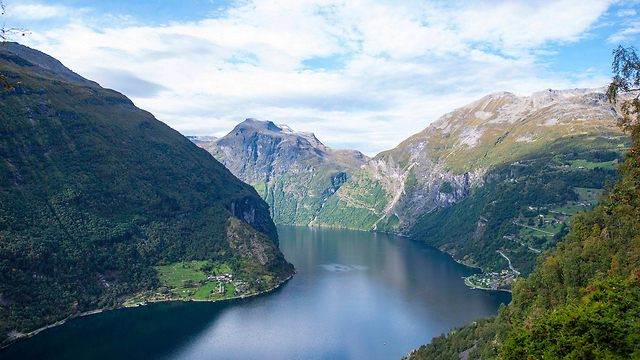 A fjord in Norway. The Scandinavian country has kept its spot as the best place to live according to the UN HDI. (Photo: AP)