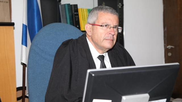 גדר הדין נדחה. השופט רוזן, היום (צילום: מוטי קמחי) (צילום: מוטי קמחי)