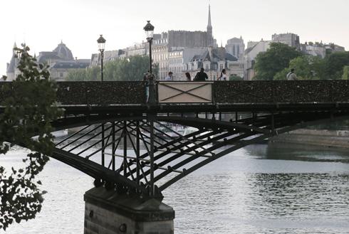 גשר פון דז אר, היום (צילום: AFP) (צילום: AFP)
