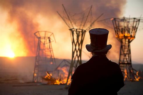 The festival will culminate in a burning of the exhibits (Photo: AP)
