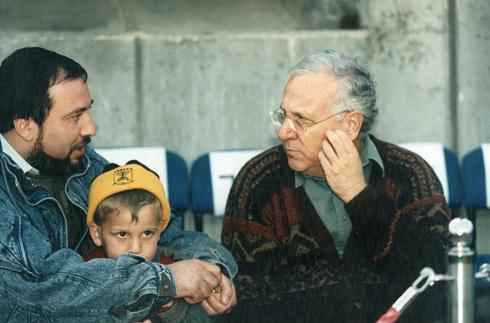 ריבלין וליברמן ב-1987 (צילום: יוסי רוט) (צילום: יוסי רוט)