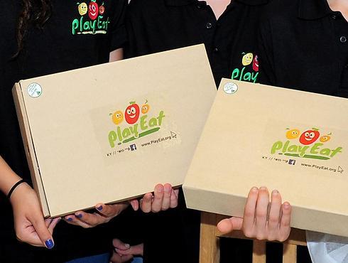 במקום השני: PlayEat - ערכת לימוד לתזונה בריאה באמצעות משחקי ילדים (צילום: כפיר סיון )
