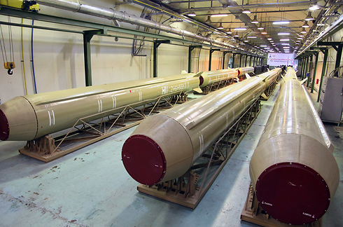 Iranian missiles (illustrative) (Photo: AP)