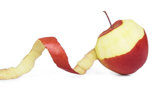 להתחיל את היום עם תפוח עץ (צילום: shutterstock) (צילום: shutterstock)