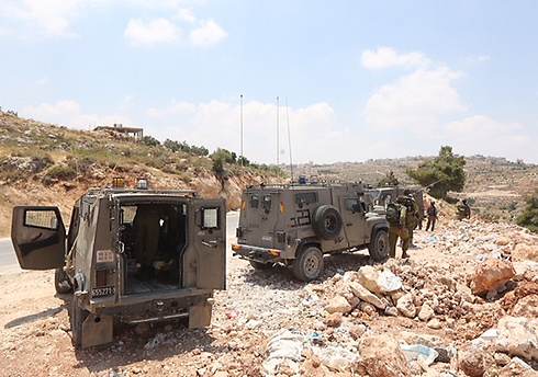 The IDF has luanched an extensive hunt for the teens (Photo: Gil Yohanan)