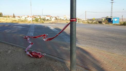 המקום שממנו נחטפו על פי החשד שלושת הנערים (צילום: יואב זיתון) (צילום: יואב זיתון)