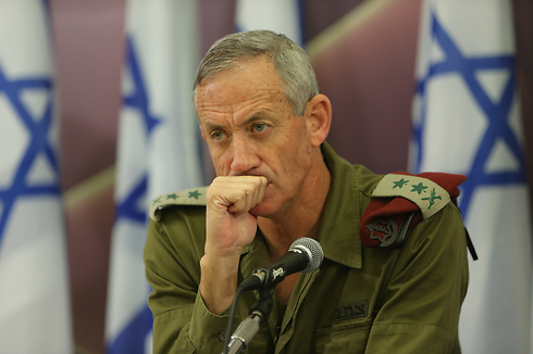 Chief of Staff Benny Gantz (Photo: Yaron Brenner)