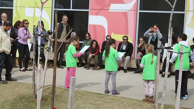 בית הספר לבנייה ירוקה של המועצה הישראלית לבניה ירוקה (צילום: ליטל כרמל) (צילום: ליטל כרמל)