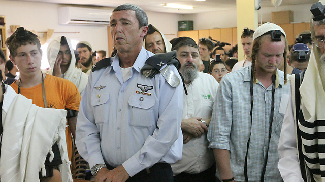 Chief IDF Rabbi Rafi Peretz (Photo: Ido Erez)