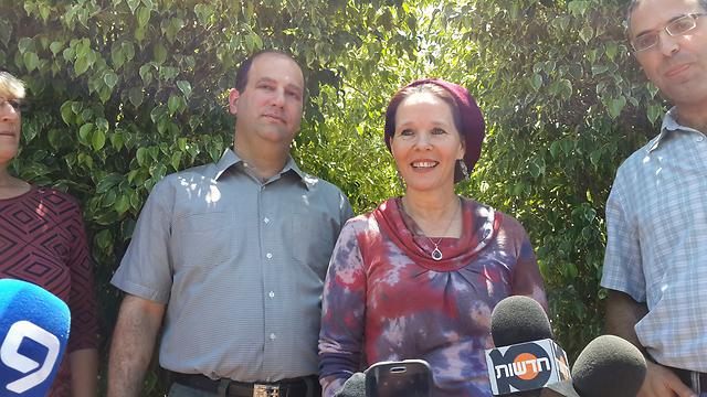 Naftali Frenkel's parents (Photo: Noam Dvir)