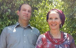 Naftali Frenkel's parents. (Photo: Noam Dvir) (Photo: Noam Dvir)