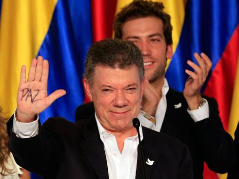 הנשיא שלא ויתר על השלום. מנואל סנטוס (צילום: רויטרס) (צילום: רויטרס)