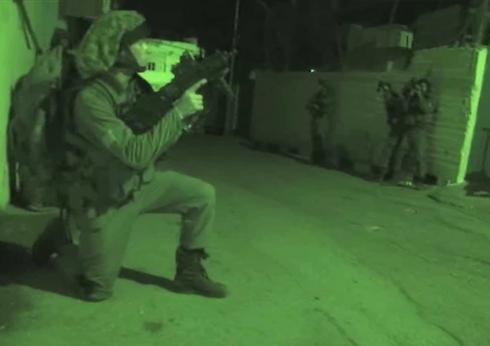 IDF forces during Jenin operations (Photo: IDF Spokesperson's Unit) (Photo: IDF Spokesperson's Unit)