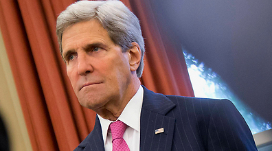 US Secretary of Stte John Kerry. (Photo: AP) (Photo: AP)