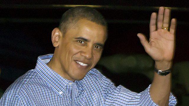 כריזמה ודוגמה לאחרים - הנשיא אובמה (צילום: AP)