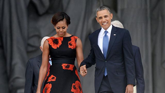 מתאימים הנשיא ברק אובמה ואשתו מישל (צילום: MCT)